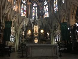 Church inside , mynpyn - October 2017