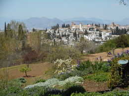 Alhambra Gardens , maria - May 2016