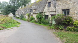 Beautiful houses in Bibury. , Brian J - October 2016