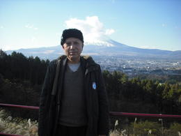 Abu with Mount Fuji in background , ABU M - December 2012