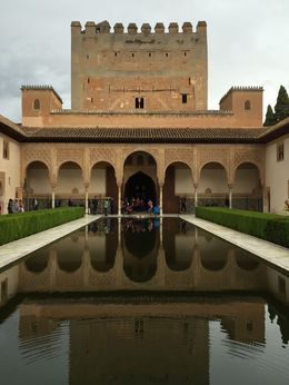 Reflecting pool - Alhambra , ad - May 2016