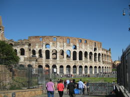 This is not the real name I learned it's actual name is.. Flavian ampitheater after it's builder! , Patricia C - April 2011