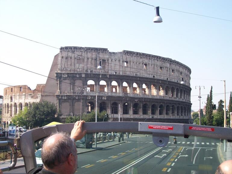Cruising by the Colosseum - Rome