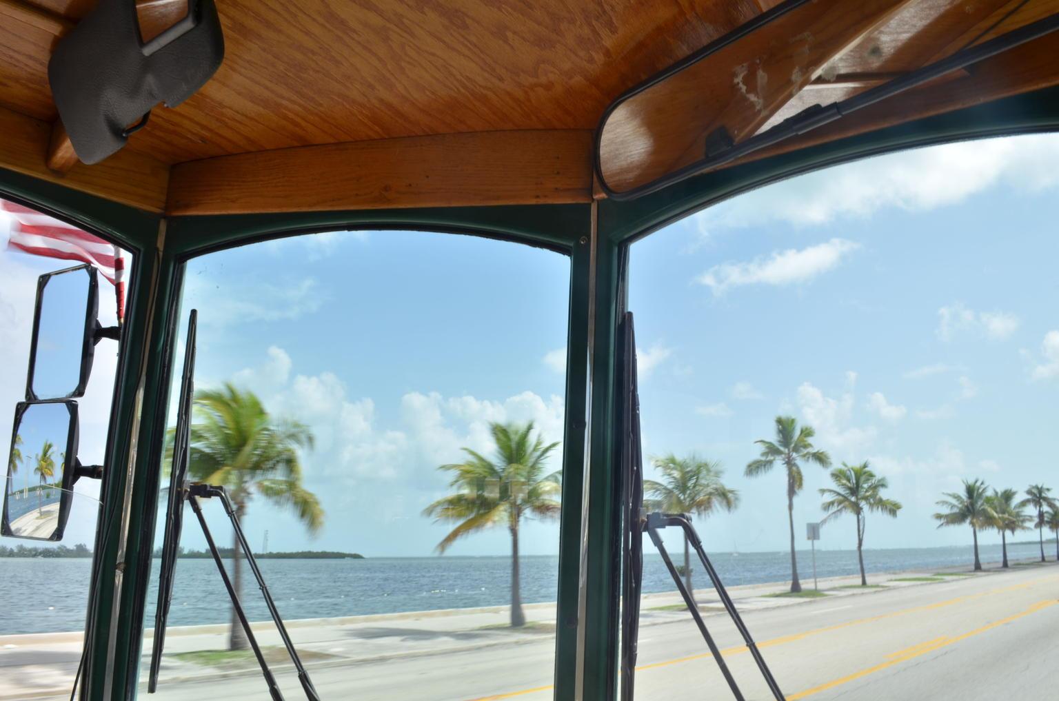 MÁS FOTOS, Recorrido en tranvía con paradas libres por Key West