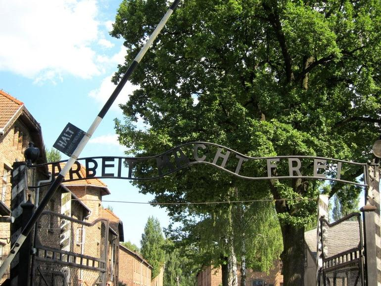 Entrance Gate to Auschwitz - Krakow