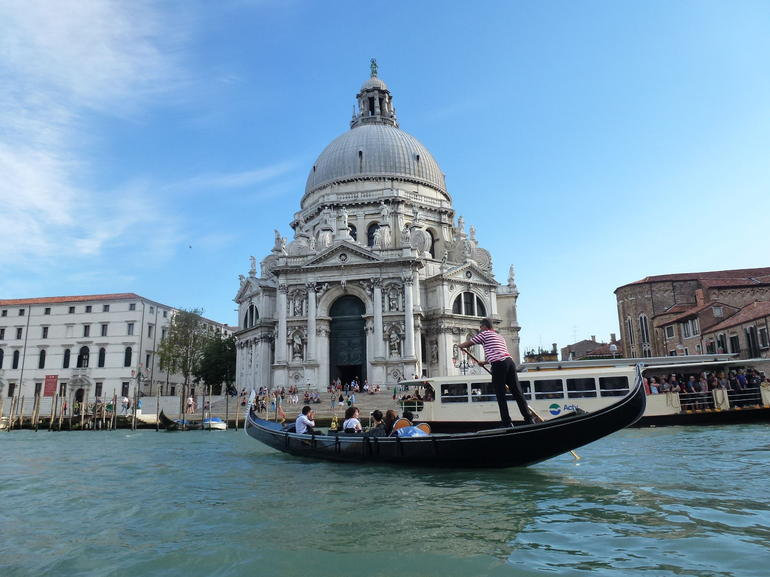 From our gondola - Venice