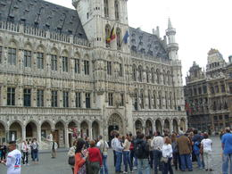 This is the Grand Place in the heart of Brussels, the focal point of the city's tourism. There is such fine detail in the architecture of the buildings here it takes your breath away! , ANDY O - August 2011