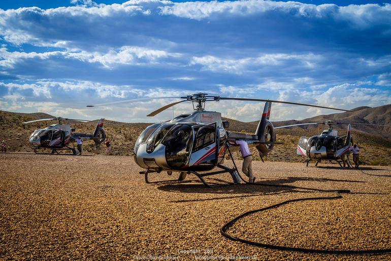 Heli at Fuelstation - Las Vegas