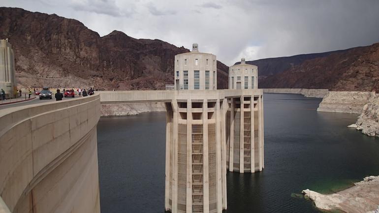 Hoover Dam intake towers - Las Vegas