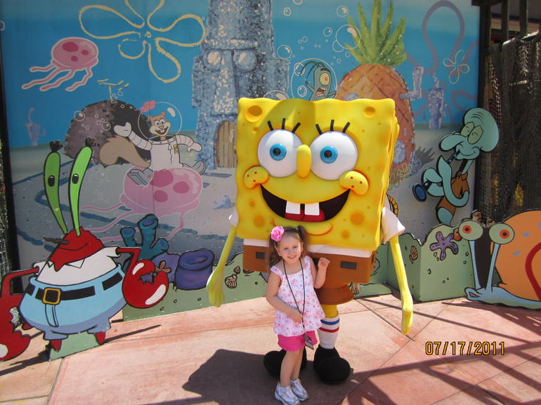 Lanie and Sponge Bob - Los Angeles