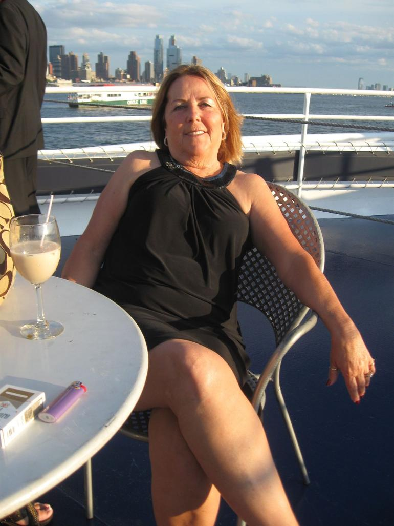 On the Deck of the Ship - New York City