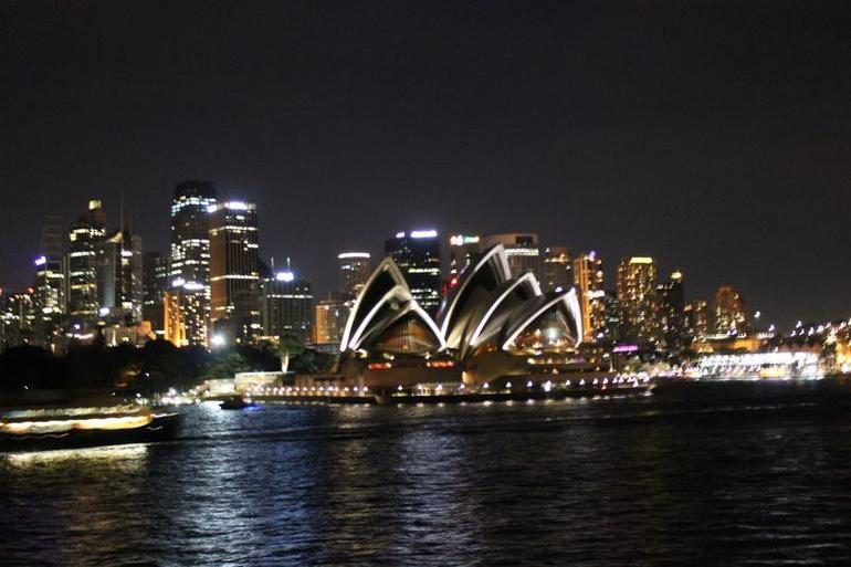 Opera house at night - Sydney