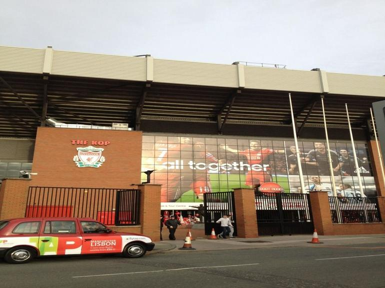 outside the KOP - Liverpool