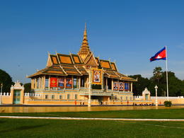 Outside the Royal Palace in Phnom Penh. , Kevin F - December 2014