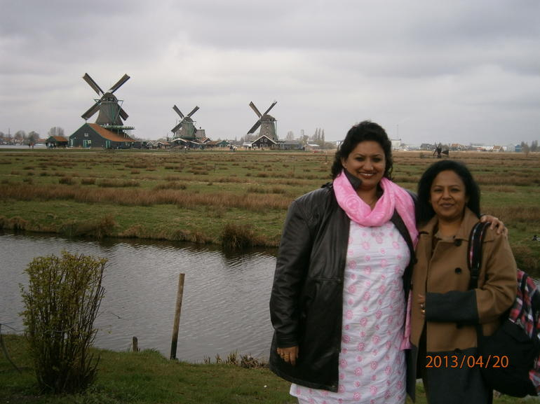 The Windmills in the Backdrop - Amsterdam