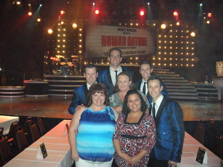 Veronnica, Jen & Jacki meeting the boys - Las Vegas