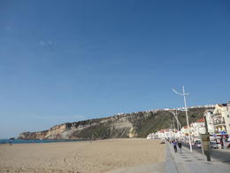 Beach in Nazare , Norbert - November 2016