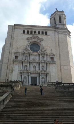 Girona cathedral outside , Erick A - November 2016