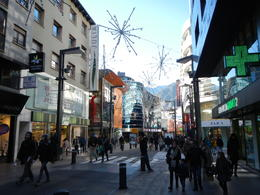 Downtown in the capital of Andorra , Ronald L - December 2016