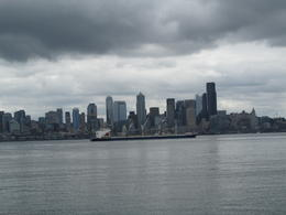 Skyline shot of Seattle from an overlook on the tour! , Diane S - July 2017