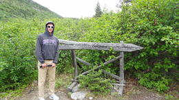 End of the Chilkoot trail in Lake Bennett , Michelle D - August 2017