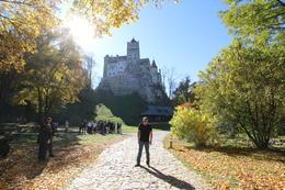 Dracula's castle in background , Maurice V - October 2017
