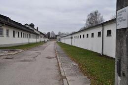 View of the Dachau concentration camp , Niketan R - January 2018