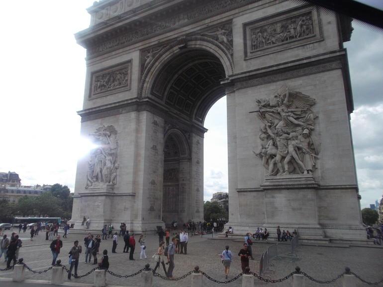 Arco de triunfo - Paris
