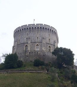 Cold, wet, rainy Windsor tour. Perfect London Weather! , Kimberly H - March 2015