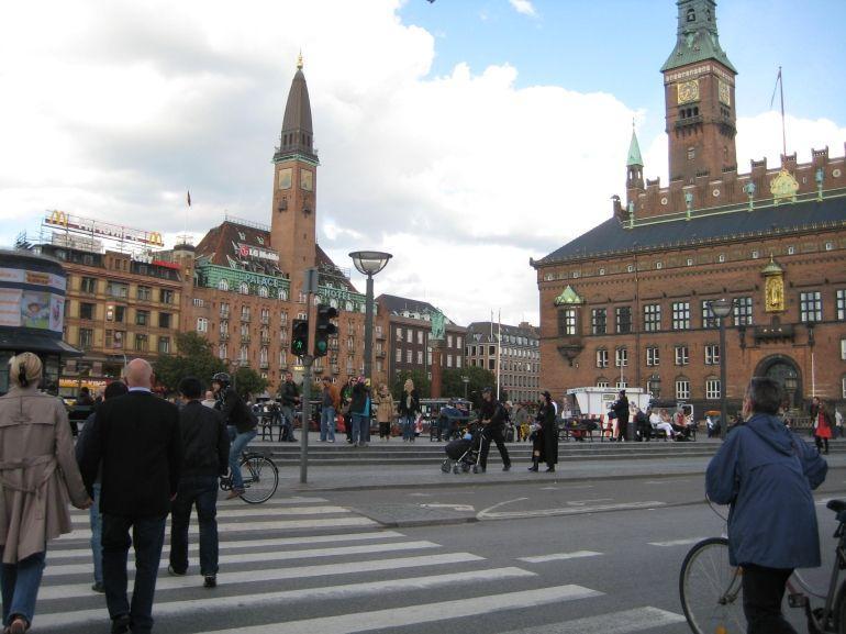Busy Street in Copenhagen - Copenhagen