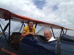 This is me with our pilot Bill. Awesome man, got us safely back on the ground!! Thanks Bill! DON'T FORGET TO TIP YOUR PILOT!! , cindy s - September 2012