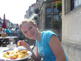 We stopped for lunch in Burford, a charming village in the Cotswolds - May 2013