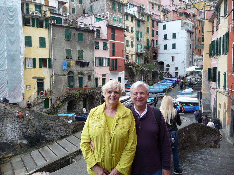 Having fun at Cinque Terre - Florence