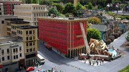 Explore all of Mini Town USA at Legoland in San Diego! - July 2011