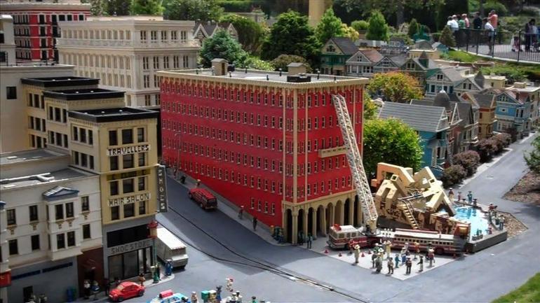 Lego Buildings, San Diego - San Diego