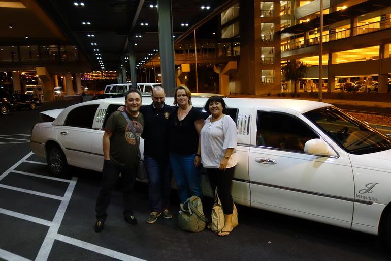 Limo Arrival in Las Vegas - Las Vegas