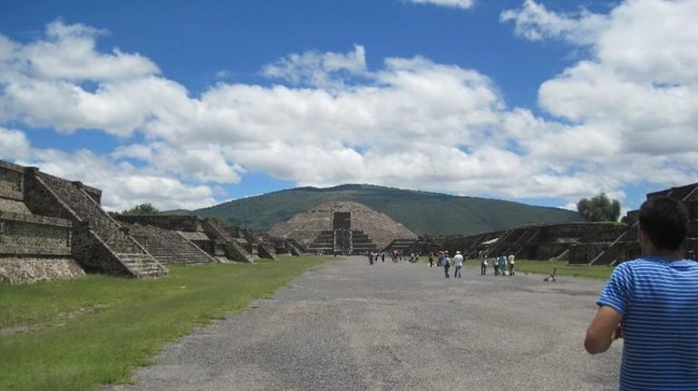 Moon Pyramid - Mexico City