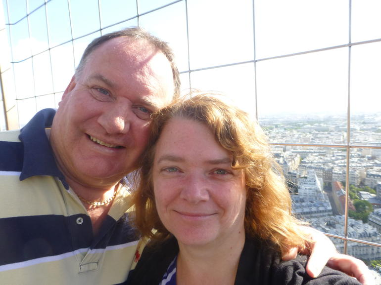 On the Eiffel Tower - Paris