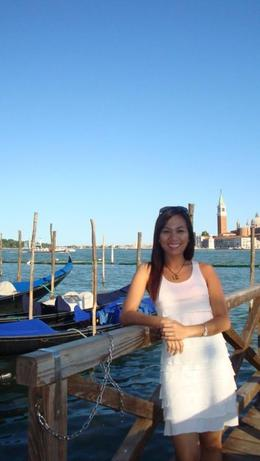 Waiting for our Grand Canal Tour at San Marco, Sheila Marie L - July 2009