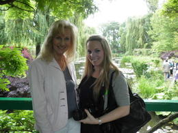 At Monet's beautiful waterlilly pond. Spectacular and inspirational! , Kim I - June 2011