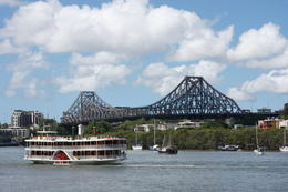 Brisbane River cruise boat - May 2011