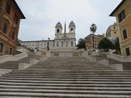 Found the Spanish Steps on our first afternoon in Rome. There is no one the Spanish Steps because they were closed for construction! , kathe.lewis - October 2016