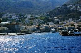 The beautiful island port of Hydra , Paul K Phillips - October 2012