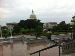 Photo taken from the steps of the Library of Congress. , Hallie and Joel - September 2013