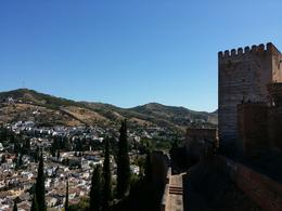 View from Alhambra , Anna C I - September 2014