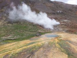 Hot spring, HTravelerUK - June 2015