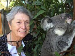 Marilee hugging a Koala , MARILEE B - November 2014