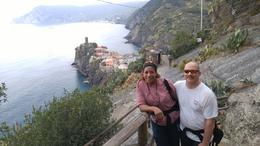Gabe and Sheila Mcbride on the Cinque Terre Day Hike, , Sheila G - October 2016