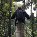 Hanging Bridges, La Fortuna Waterfall, Typical lunch and Arenal Volcano Hike, La Fortuna, COSTA RICA