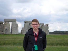 My grandson at Stonehenge. , Kevin W - May 2016